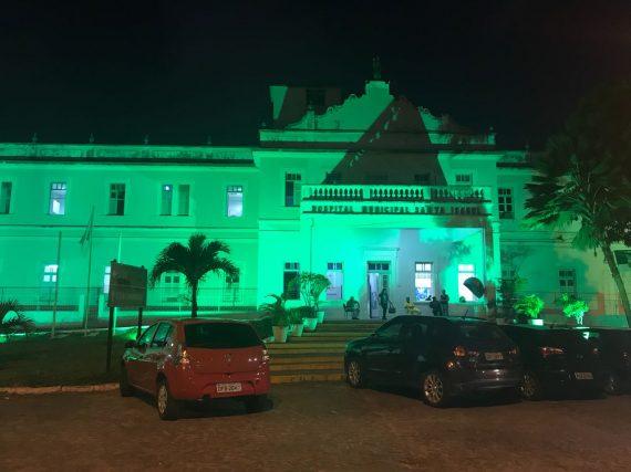 O Hospital Municipal Santa Isabel, em João Pessoa (PB), apoia Campanha de Prevenção do Câncer Colorretal